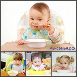 малыш кушает суп, полезно ли это?